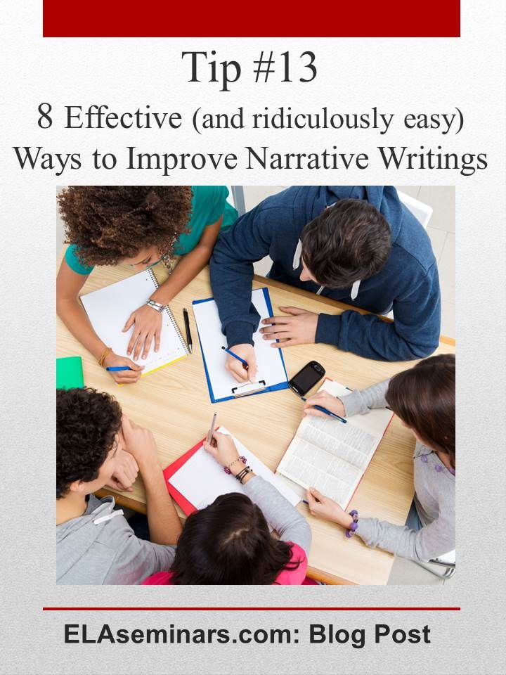 how to add exitement to a narrative