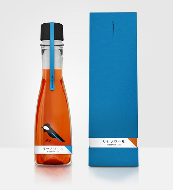 Ricenoir Sake (Concept) on Packaging of the World - Creative Package Design Gallery