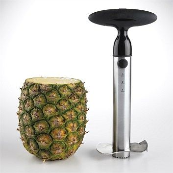 Kitchen Utensils & Supplies - Living & Giving - Good Grips SS Ratchet Pineapple Slicer