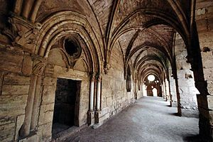 Gallery of the Hall of the Knights - Krak des Chevaliers