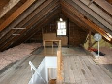 How to Finish Attic Walls and Ceilings | how-tos | DIY