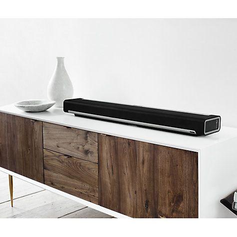 Buy Sonos Playbar Home Cinema Sound Bar Online at johnlewis.com