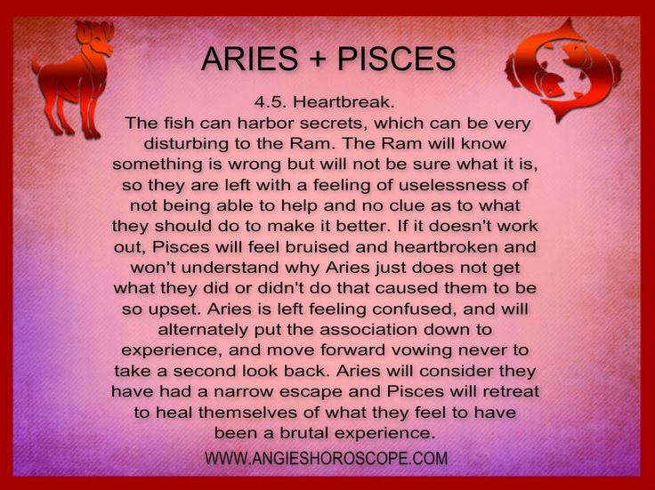 love match for aries and pisces relationship