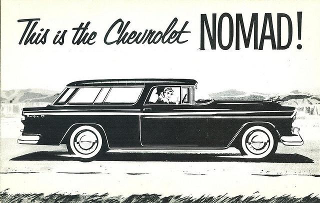 1955 chevrolet nomad brochure