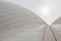 Into Silent Skies. Images of Sydney Opera House Roof Shells, Australia | Quintin Lake Photography