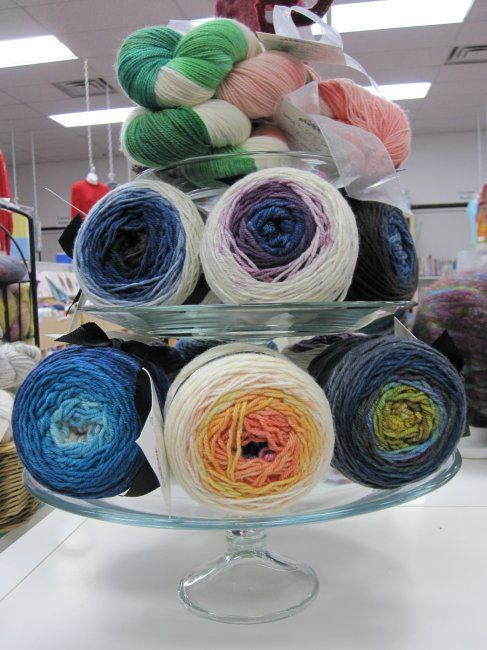 New in the store: Ravenswood Fibre Co! We are now carrying Gradient DK and Watermelon Crawl from this Canadian yarn company. Available in retail store.