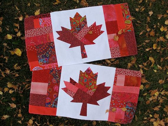 Oh Canada Quilt Pattern PDF by CherylArkison on Etsy