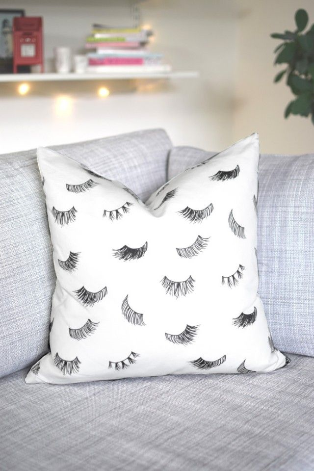 Eyelashes Pillow Case Nordic design collective