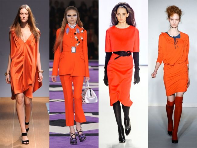 Oranz totalny na jesień 2012