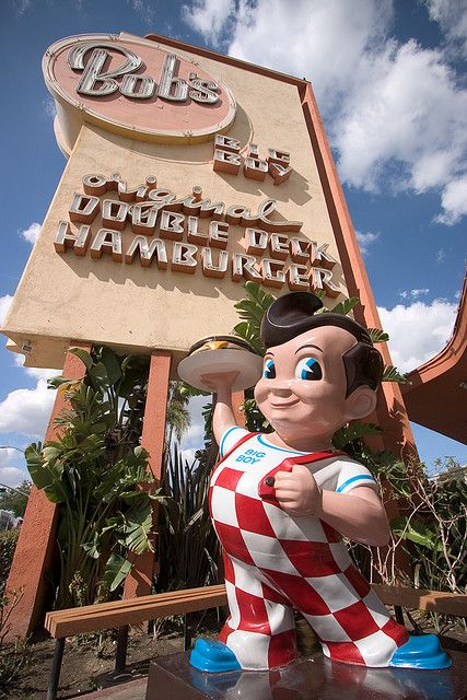 Bob's Big Boy...one right down the street fom my college....memories of late nights