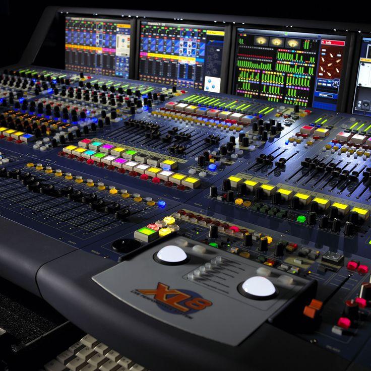Midas Xl8 Digital Mixer Live Sound Recording Studios In