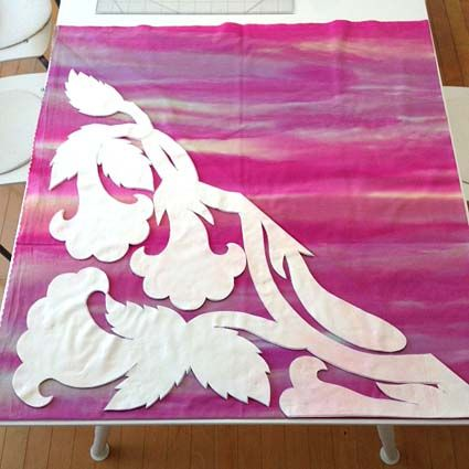 purple dawn - メグとハワイアンキルトな日々