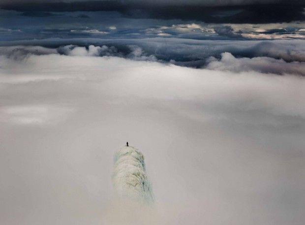 Remi McMurtry in heaven (Iceland, volcano Snaefell, 1455 m)