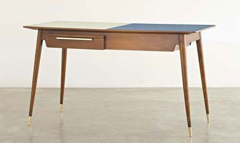 GIO PONTI  Double-fronted desk, ca. 1950