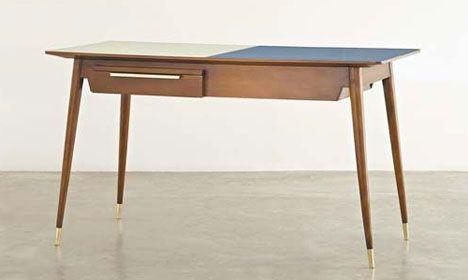 GIO PONTI  Double-fronted desk, ca. 1950