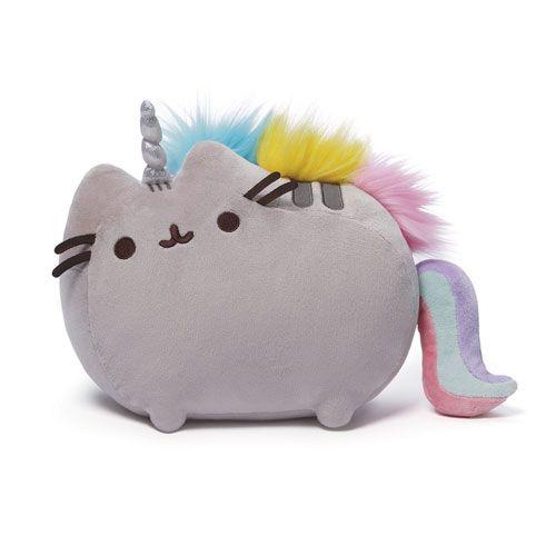 Pusheen the Cat Pusheenicorn 13-Inch Plush - Gund - Pusheen - Plush at Entertainment Earth