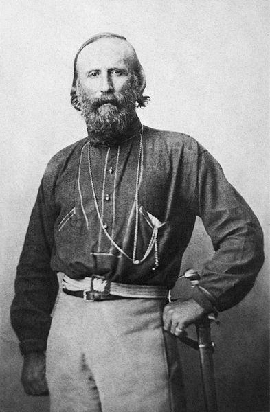 Giuseppe Garibaldi. Italian Military and Political Leader.