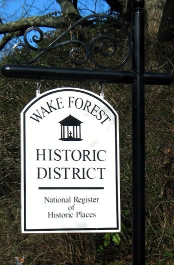 Wake Forest Historic District - Town of Wake Forest, NC