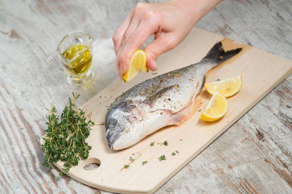 Kochen lernen in einem Fisch-Kochkurs in Essen - Fisch mit Zitrone