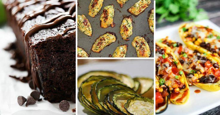 15 nejoblíbenějších receptů s cuketou