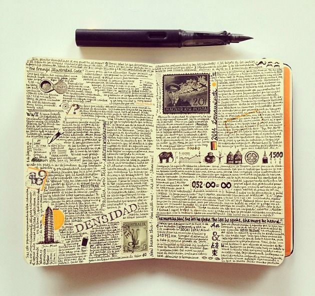 The Journal Diaries- Jose's Moleskine / Seaweed Kisses