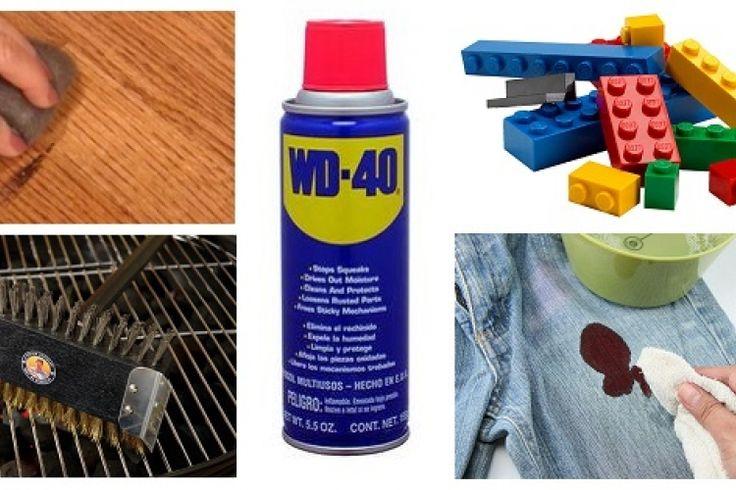 TOP 50 des utilisations du WD-40 que vous ne connaissez peut-être pas!