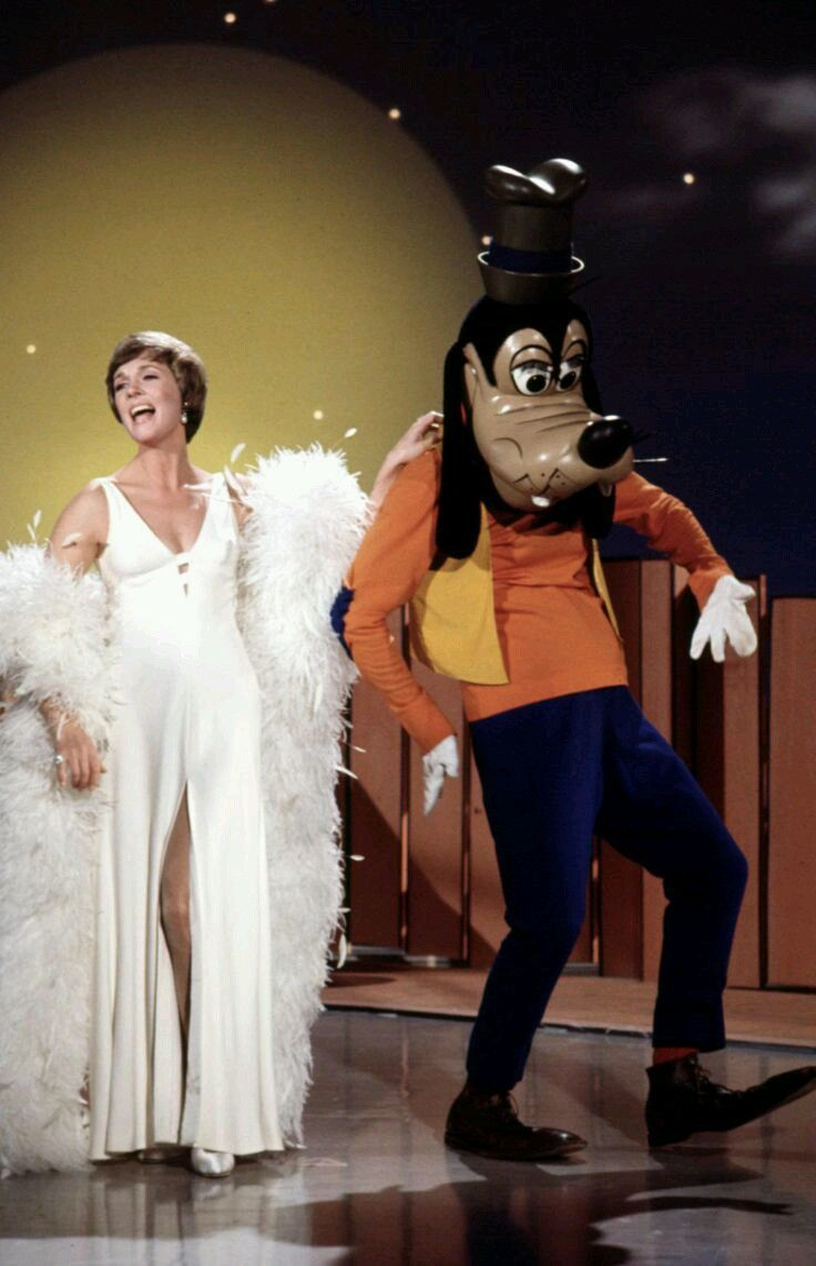 1972 Nov. 22 Julie Andrews Hour Disney Special with Donald O'Connor, the Young Americans, and Adriana Caselotti.