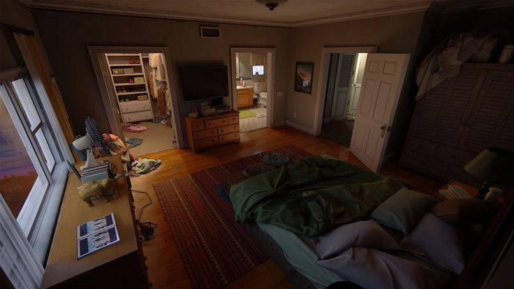 Nate & Elena's room