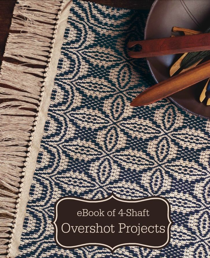 540 best weaving 4 shaft images on pinterest loom weaving weave this small overshot rug then move on to the 9 other overshot projects in this ebook fandeluxe Ebook collections