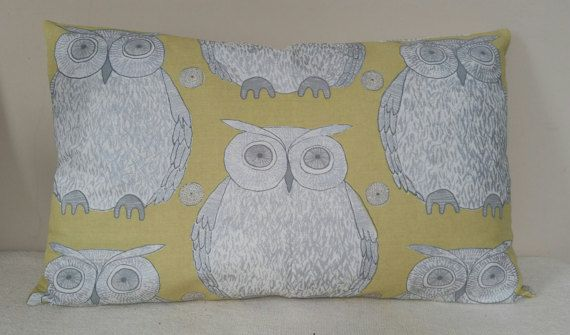 Check out this item in my Etsy shop https://www.etsy.com/listing/227910001/owl-cushion-41x67cm-blendworth-fabric