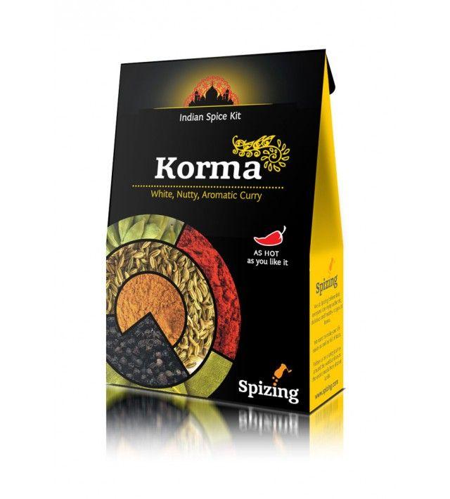 Комплект подправки Spizing за КОРМА (Бяло, ароматно къри с ядки)