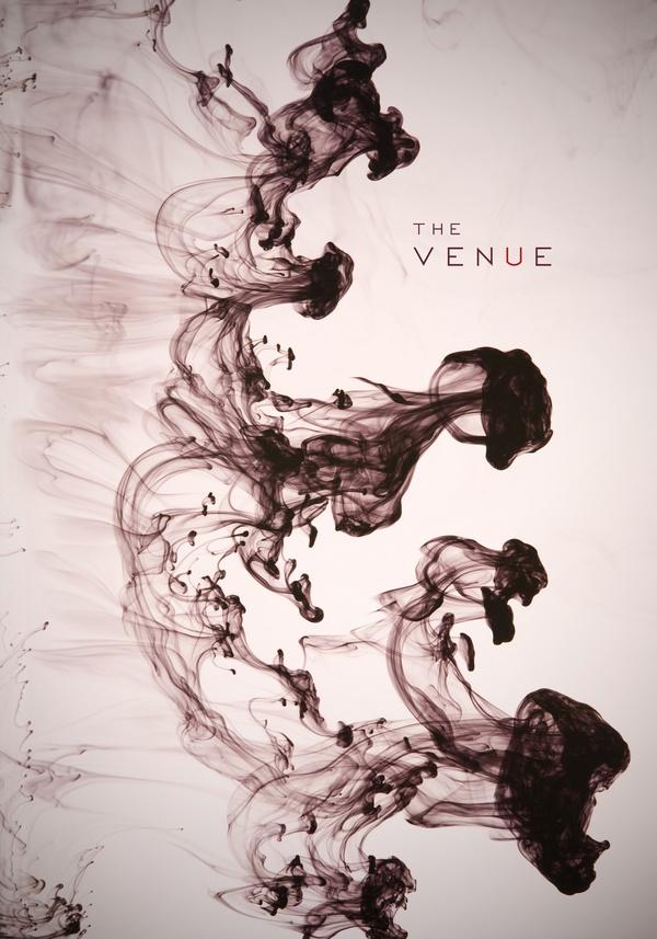 The Venue (Ink) by Michael Morales, via BehanceMichael Morale, Venues Ink