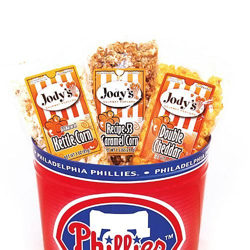 Jody's Gourmet Popcorn Collection in NFL Team Tin - Cardinals