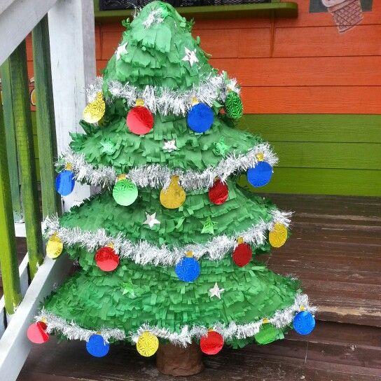 17 Best Christmas Pinata Images On Pinterest Pinata Ideas  - Christmas Tree Pinata