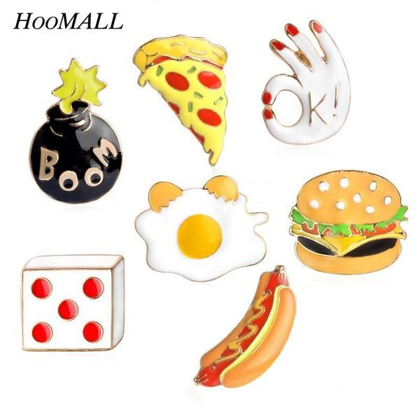 CARTOON ICON METAL PIN ON BADGES BACKPACK CLOTH BADGES FOR JEANS