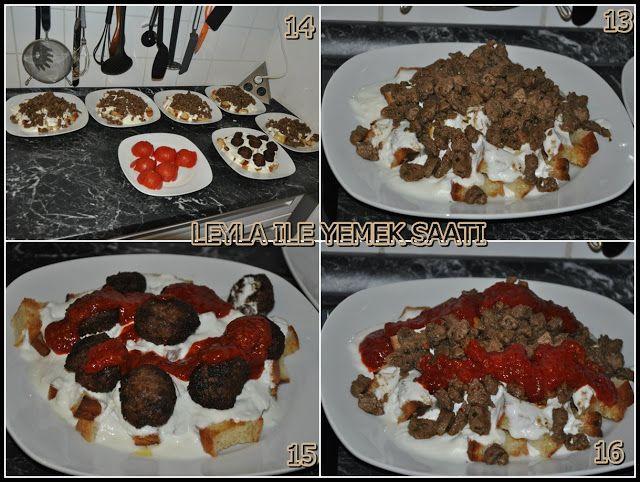 Leyla ile Yemek Saati: EV YAPIMI ISKENDER KEBAB