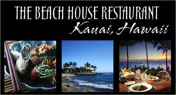 kauai+restaurants   Beach House Restaurant :: Kauai Restaurants Fine Dining Poipu ... on ...