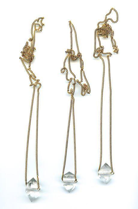 Herkimer Necklace