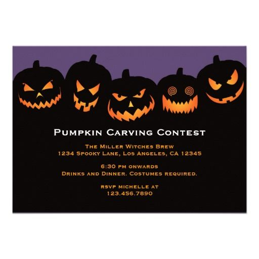 Best Halloween Party Invitation Templates Images On