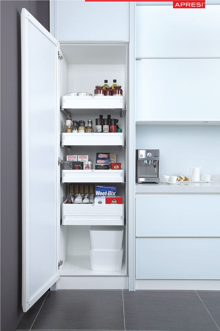 Small #kitchens are extremely cozy but it's often not enough storage space. How can one #organize smart #storage #spaces in the kitchen to accommodate everything?  Find out more @ http://www.apresi.com.my/