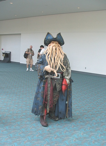 Davy Jones cosplay level: go cry.