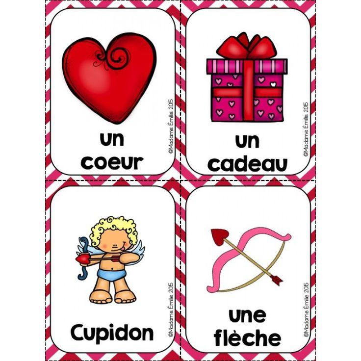 Ensemble d'activités {Saint-Valentin}