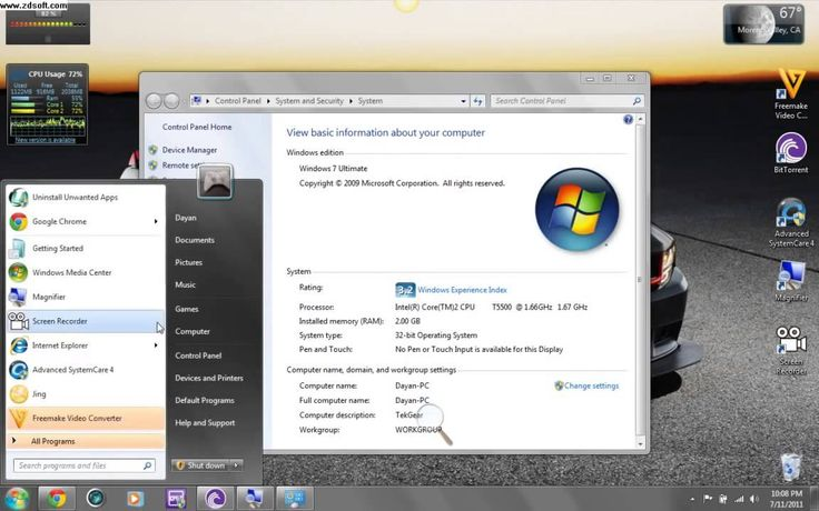 Activate WindoW 7 for ULTIMATE, FREE HOME PREMIUM