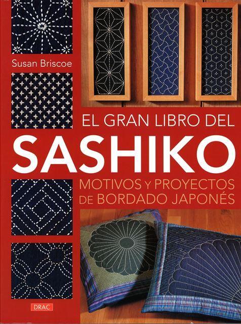 """Los materiales y equipo, las técnicas básicas y numerosos proyectos de  cortinas """"noren"""" para una puerta especial, cojines """"zabuton"""" para el suelo, caminos de mesa, posavasos y muchos otros, para realizar con este especial punto de bastilla japonés. También su historia.   #sashiko #bordado Búscalo en http://absys.asturias.es/cgi-abnet_Bast/abnetop?SUBC=03240101&ACC=DOSEARCH&xsqf01=(sashiko+briscoe)"""