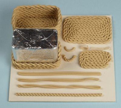 Tutorial: Miniature Baskets · Polymer Clay   CraftGossip.com