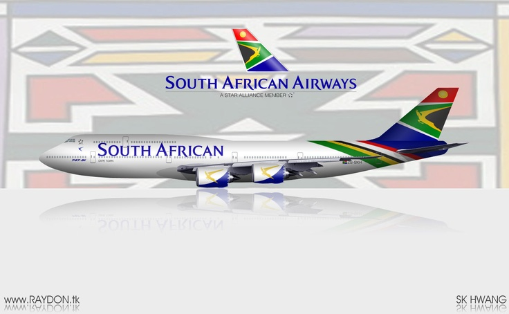 South African Airways B747