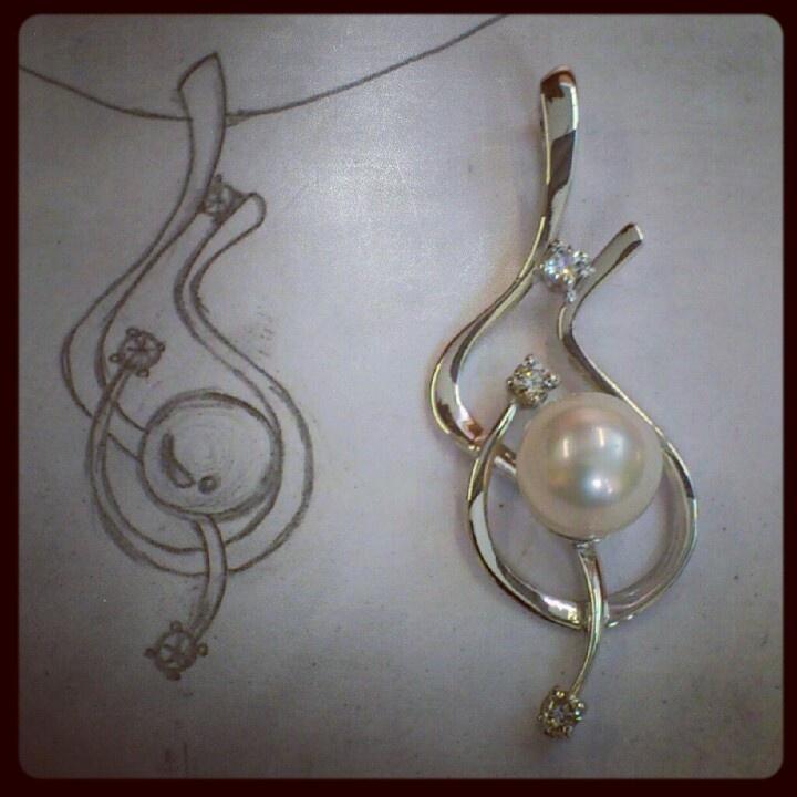 #Jewels #gold #pearl #handmade #madeinitaly  www.gioiellisoprana.it