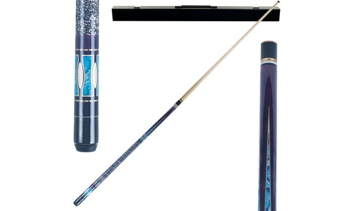 Purple Matrix Designer Pool Stick