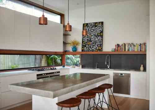 11 best plan de travail images on Pinterest Cement, Countertop and - enduit ciment blanc exterieur