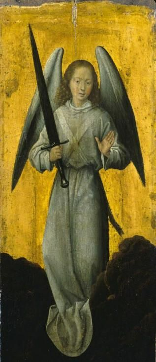 Archangel Michael - Hans Memling http://www.